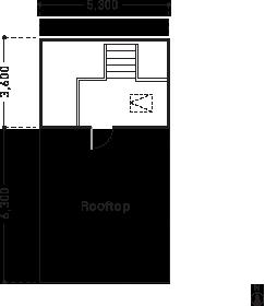 屋上・バルコニー図面